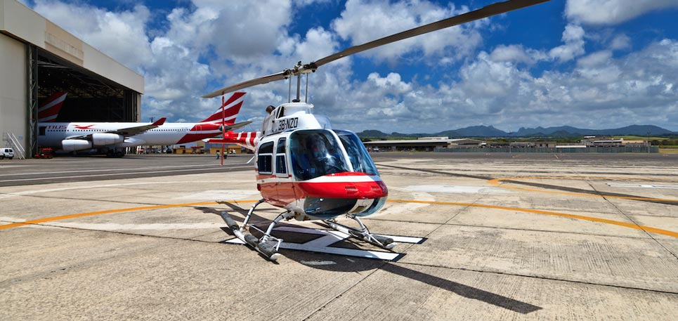 Airport Transfer by Helicopter